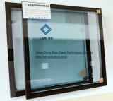 vidro isolado 32mm, Dgu, vidro oco para a parede de cortina, fachada, vidro de isolamento, vidro da construção, vidro de construção