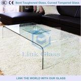 Vidro temperado curvado, vidro temperado curvo para construção e aparelho