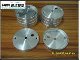 Peças fazendo à máquina do CNC do alumínio da máquina do torno do CNC do OEM