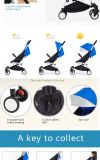 Neue Modell-faltbarer BabyPram/Aluminiumbaby-Spaziergänger/Baby - Puppe Pram-Spaziergänger