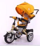 Quadro de aço do triciclo do bebê do projeto novo de 2016