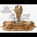 White Carrara Sculpture Fountain for Craft Mf-639