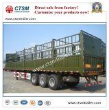 製造業者のDierectの販売の家畜はトレーラーを半囲うか、または杭で囲う