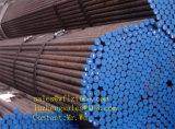 Tubos sin soldadura de acero negros Sch40 ASTM A106, tubo de ASTM A106 Sch40 Sch80