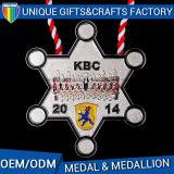 Изготовленный на заказ медали типа мира серебра и бронзы медальона медали металла