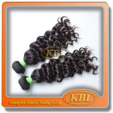 加工されていないブラジルの毛のRemyの毛の拡張