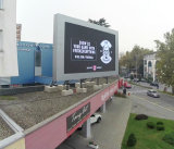El panel publicitario grande al aire libre del LED