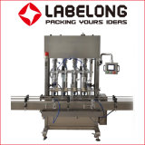 Labelong botellas de PET de tipo lineal de la máquina de llenado de aceite comestible