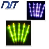 Logo personnalisé Grand Sponge Glow Concert Light Sticks pour Props