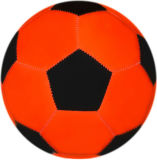 Gioco del calcio rosso e nero del PVC