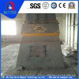 Las series de Rcya se secan/el separador magnético permanente de la tubería de la suspensión para el mineral de hierro/la planta del cemento/del carbón