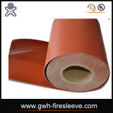 Coperta d'isolamento del fuoco intrecciata fibra di vetro di ingegneria di disegno
