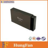 Rectángulo de regalo del papel de embalaje del conjunto de la joyería de la alta calidad