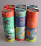 Un puzzle dei 200 della parte dei giocattoli di imballaggio del documento capretti fragili del tubo