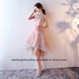 Alta Bridesmaid Dresess Baixa Renda sem mangas Bridesmaid vestidos elegantes
