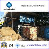Carta straccia orizzontale automatica idraulica che ricicla macchina d'imballaggio