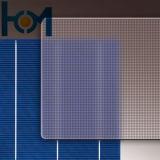 vetro Tempered del comitato solare dell'arco di uso del comitato solare di 3.2mm con l'iso, SPF, SGS