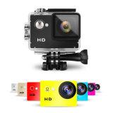 HD 1080P macchina fotografica di azione di sport dell'obiettivo grandangolare dell'affissione a cristalli liquidi da 2.0 pollici