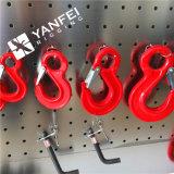 3.15ton Alloy Steel European G80 Eye Slip Hook para Corrente de Elevação