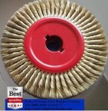 Cepillo Twisted de la junta del alambre del alambre de cobre amarillo de 12 pulgadas para el uso el concreto
