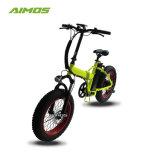 Motor sem escovas de 250W Ebike pneu de gordura com 36V 10AH BATERIA