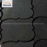 Mosaico di pietra naturale di disegno del marmo di taglio del getto di acqua della lanterna della decorazione della parete