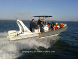 Barca di lusso della nervatura del crogiolo gonfiabile rigido di yacht del lusso di Liya 6.6m