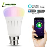 9W A60 B22 Wi-Fi Remote Control Smart Home LED Bulb Light