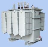 Transformateurs électroniques à haute tension triphasés de centrale de distribution