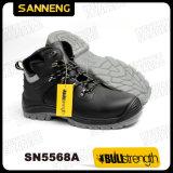 Zapatos de la seguridad en el trabajo con la puntera compuesta y Kevlar Midsole (SN5568)