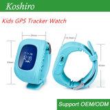 Intelligenter Uhr-Verfolger des Kinder GPS-Standort-PAS für Mädchen oder Jungen