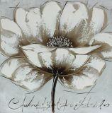 Artes hechos a mano florales florecientes bastante coloridos