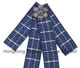 Мода женщин фестиваль подарок тканью Bowknot Diamante Brooch Cute Бабочки Corsage орнамент (ET02)