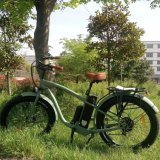 Pneu de gordura bicicleta eléctrica com 500W