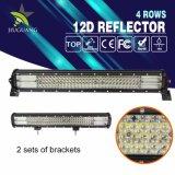 Nouveau ! 12D 20pouces étanche 4 rangs Barre lumineuse à LED, Tracteur Offroad Chariot 12V 4X4 barre lumineuse à LED