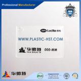 Strati acrilici di plastica del grande plexiglass candido bianco trasparente