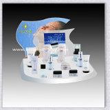 Coffret d'étalage acrylique fait sur commande de parfum en verre organique
