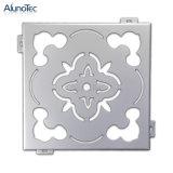 Configurations décoratives en métal de panneau de coupure de laser d'aluminium