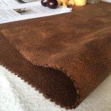 Tessuto da arredamento della pelle scamosciata del leopardo fatto della fabbrica della Cina