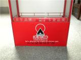 Магазин напольных товары красный металлическая подставка для дисплея/для установки в стойку