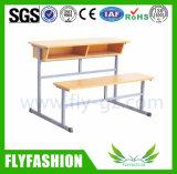 Mobiliario de alta calidad el doble de escritorio y silla (SF-28D)
