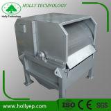 Tierische lederne Abwasserbehandlung-externe Zufuhr-Drehtrommelfilter für das feste Trennen