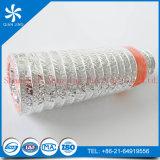Condotto dell'isolamento della vetroresina con lo strato esterno del condotto flessibile di alluminio