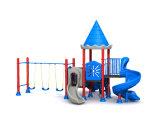 Campo de jogos ao ar livre do parque de diversões inflável seguro dos miúdos para a venda