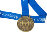 Kundenspezifische laufende Sport-Goldsilber-Kupfer-Sport-Metallmedaille