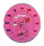 Igrometro dell'interno del termometro di umidità della grande manopola rotonda