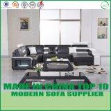 U moderno de estilo nórdico sofá de couro para sala de estar
