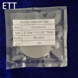 pureza 5n para la blanco de la farfulla del bismuto de la alta calidad, blanco del BI