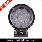 12V 24V для тяжелого режима работы 5 дюйма 45W круглый светодиодный индикатор синего цвета сигнальных ламп системы обеспечения безопасности для вилочных погрузчиков
