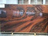 &Tile平板のための自然で贅沢で赤い大理石